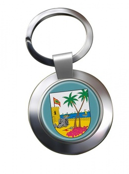 Atlantico (Colombia) Metal Key Ring