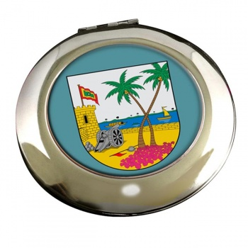 Atlantico (Colombia) Round Mirror
