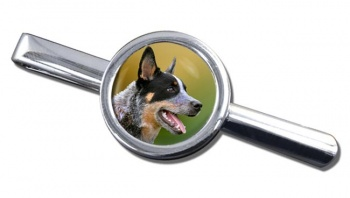 Australian Cattle Dog Tie Clip