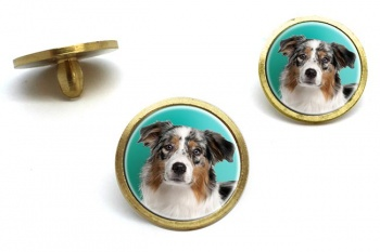Australian Shepherd  Golf Ball Marker Set