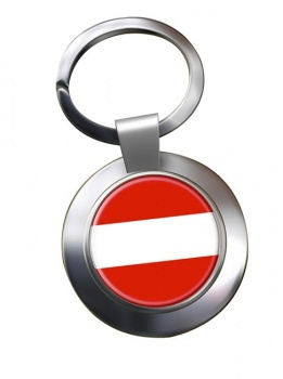 Flagge Osterreichs (Austria) Metal Key Ring