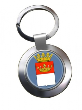 Avellino (Italy) Metal Key Ring