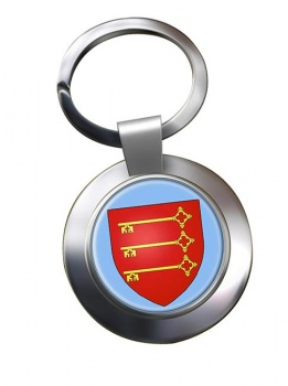 Avignon (France) Metal Key Ring