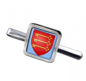 Avignon (France) Square Tie Clip