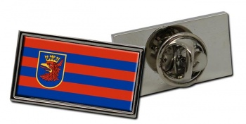 Szczecin (Poland) Flag Pin Badge