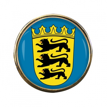Baden-Wurttemberg (Germany) Round Pin Badge