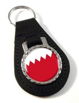 Bahrain  Leather Key Fob