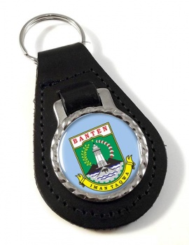 Banten (Indonesia) Leather Key Fob