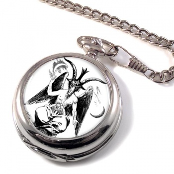 Baphomet Pocket Watch