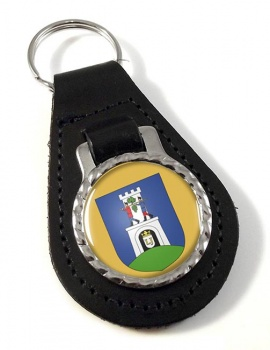 Baranya County Leather Key Fob
