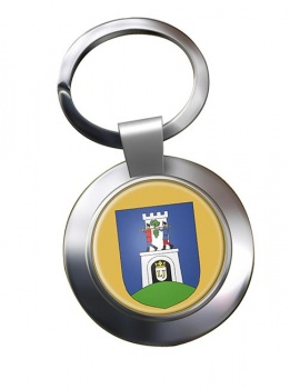 Baranya County Metal Key Ring