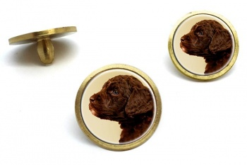Barbet (French Water Dog)  Golf Ball Marker Set