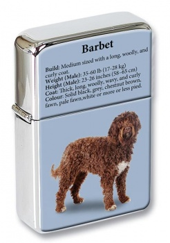 Barbet (French Water Dog) Flip Top Lighter