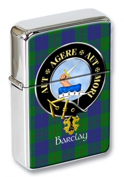 Barclay Scottish Clan Flip Top Lighter