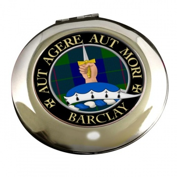 Barclay Scottish Clan Chrome Mirror