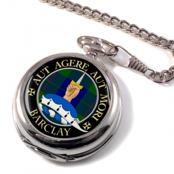 Barclay Scottish Clan Pocket Watch
