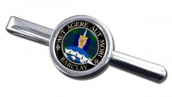 Barclay Scottish Clan Round Tie Clip