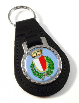 Bari (Italy) Leather Key Fob