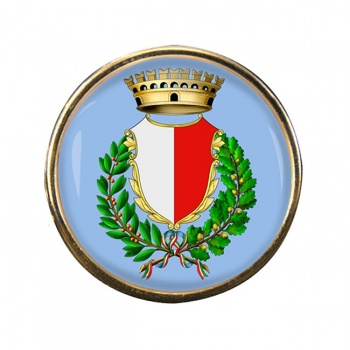 Bari (Italy) Round Pin Badge