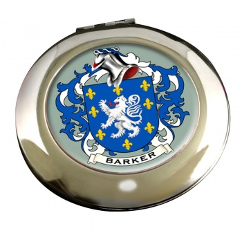 Barker Coat of Arms Chrome Mirror