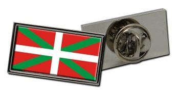 Basque Country Euskadi (Spain) Flag Pin Badge
