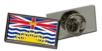 British Columbia (Canada) Flag Pin Badge