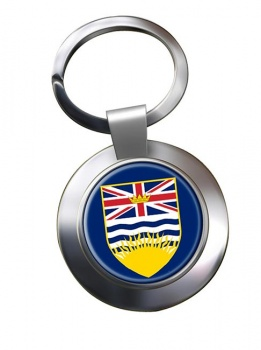 British Columbia (Canada) Metal Key Ring