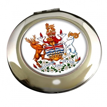 British Columbia (Canada) Round Mirror