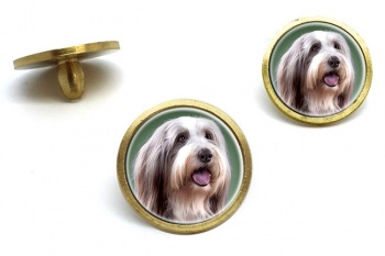 Bearded Collie  Golf Ball Marker Set