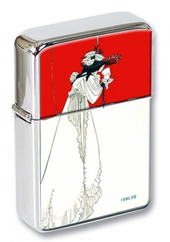 isolde by Aubrey Beardsley Flip Top Lighter