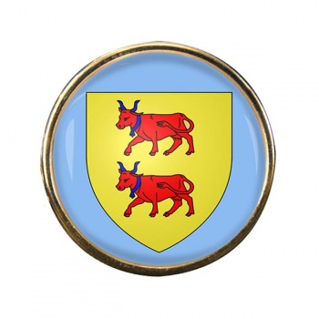 Bearn (France) Round Pin Badge