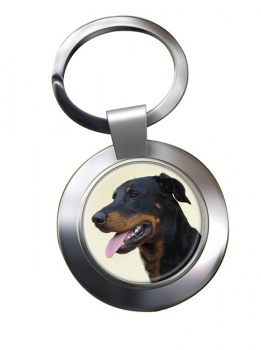 Beauceron Metal Key Ring