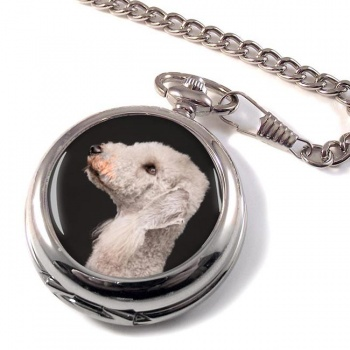 Bedlington Terrier Pocket Watch