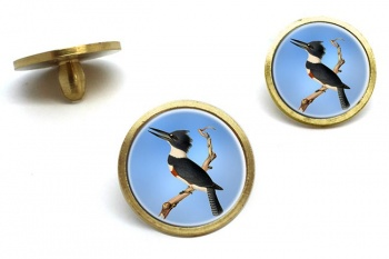 Belted kingfisher  Golf Ball Marker Set