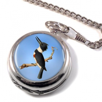 Belted kingfisher Pocket Watch