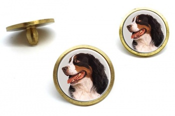 Bernese Mountain Dog  Golf Ball Marker Set