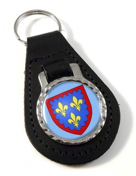 Berry (France) Leather Key Fob