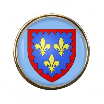 Berry (France) Round Pin Badge
