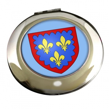 Berry (France) Round Mirror