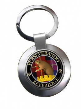 Beveridge Scottish Clan Chrome Key Ring