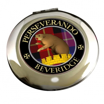 Beveridge Scottish Clan Chrome Mirror