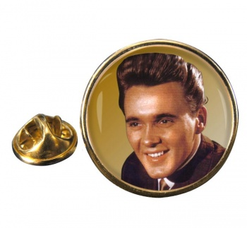 Billy Fury Round Pin Badge