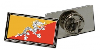 Bhutan Flag Pin Badge