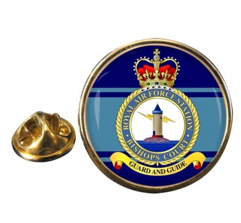 Bishops Court Round Pin Badge