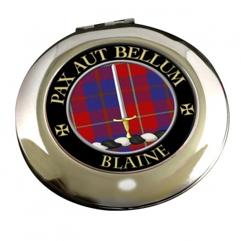 Blaine Scottish Clan Chrome Mirror
