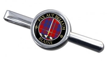 Blaine Scottish Clan Round Tie Clip