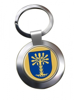 Blekinge (Sweden) Metal Key Ring