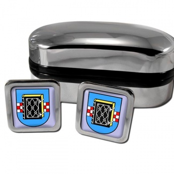 Bochum Germany Square Cufflinks