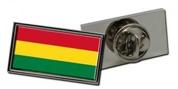 Bolivia Flag Pin Badge