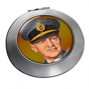 Sir Arthur ''Bomber'' Harris Chrome Mirror